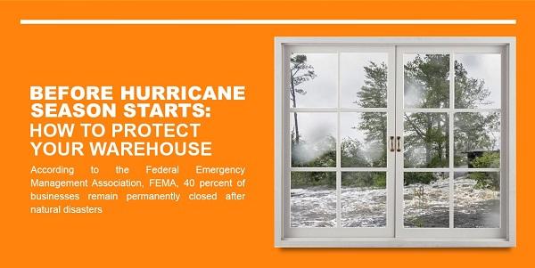protect warehouse before hurricane