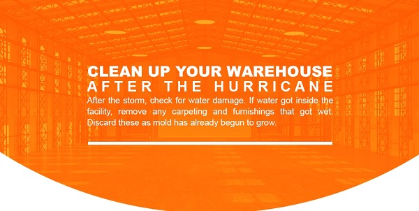 clean up warehouse