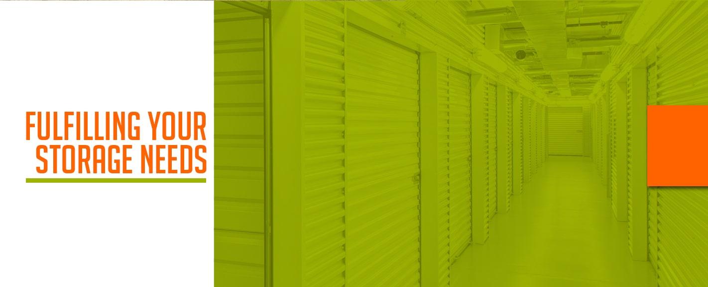 fufill storage needs